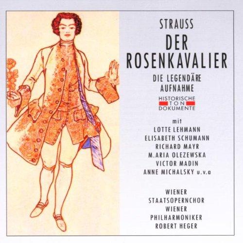 Strauss: Der Rosenkavalier (Gesamtaufnahme) (Aufnahme Wien