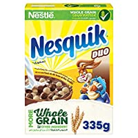 Nestle Nesquik Duo Breakfast Cereal - 335 gm
