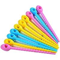 Mengonee 5pcs Silicona Snack-Fresh Food Bolsa de Almacenamiento Clip Más Cerca Cierre Clip (Color al Azar)