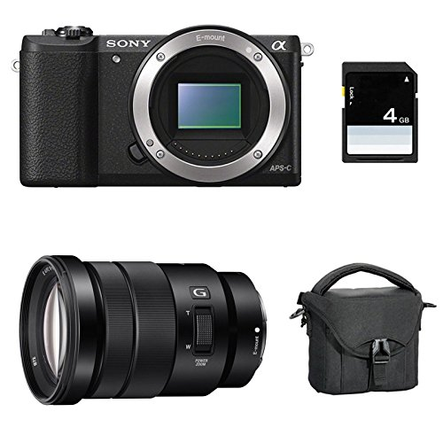 SONY ALPHA 5100 NOIR + 18-105 + Sac + SD 4 Go