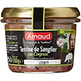 ARNAUD Terrine de Sanglier au Cognac 180 g - Lot de 6