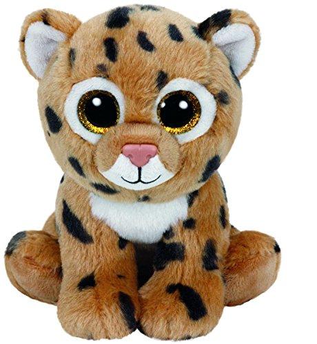carletto-ty-42120-freckles-leopard-mit-glitzeraugen-beanie-babies-15-cm