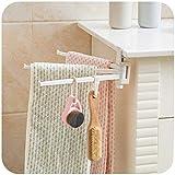 FORTR Home Punch-Free Handtuchhalter Küchentuchhalter Handtuchhalter Handtuchhalter Bad Wand Badetuch, Badetuchhalter (Color : Bath Towel Rack)