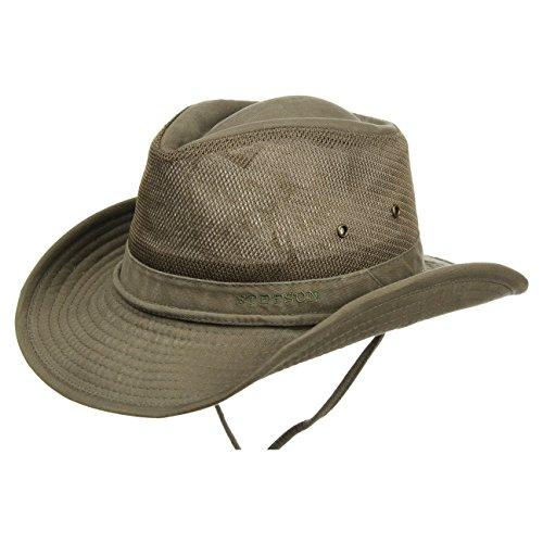 chapeau-diaz-air-traveller-stetson-chapeau-en-coton-chapeau-aventurier-m-56-57-olive