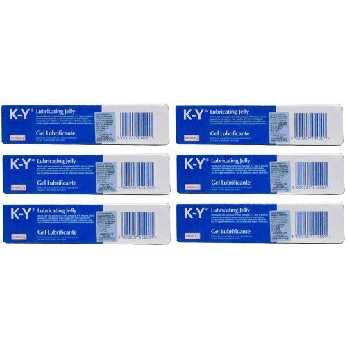 six-packs-of-k-y-gel-lubricating-sterile-jelly-82g
