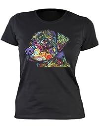"""T-Shirt /"""" Rottweiler Hund /"""" S M L XL XXL auch Damen-Girli NEU"""