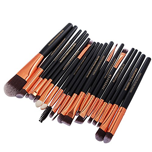 Make-Up-Pinsel-Set, MultifunktionslidschattenbüRste LippenbüRste AugenbrauebüRste ErröTen BüRstenverfassungsbüRste Pinselset