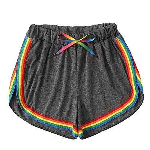 Zolimx Pantalones Cortos Mujer Deporte