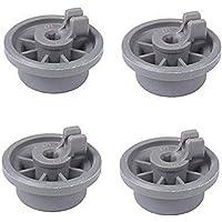 Alician 4Pcs Wheel for Bosch Siemens Neff 165314 Dishwasher Accessories 4pcs