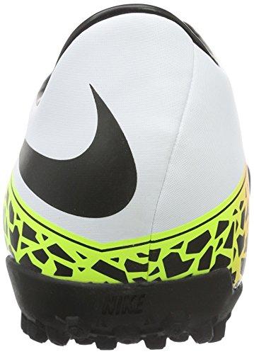Nike Herren Hypervenom Phelon Ii Tf Fußballschuhe Blanco (Blanco (White/Black-Total Orange-Volt))