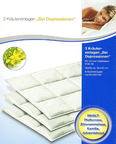 Kräutereinlagen 3 Stk. für Aroma Heizkissen Wahlweise (