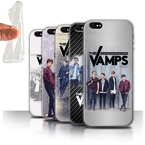 Offiziell The Vamps Hülle / Gel TPU Case für Apple iPhone 6+/Plus 5.5 / Pack 6pcs Muster / The Vamps Fotoshoot Kollektion Pack 6pcs