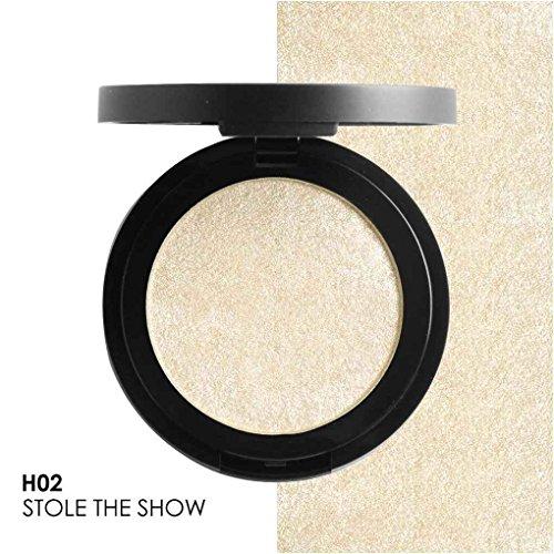 Mengonee FOCALLURE 5 Couleurs Shimmer Surligneur Poudre Illuminateur Imperméable À L'eau Éclat Poudre 3D Visage Contour FA25