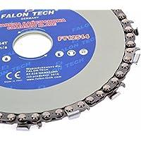 Hoja de sierra de cadena/disco de corte para madera 125mm hoja de sierra circular de motosierra Cadena