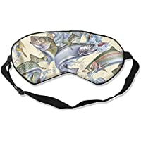 Art Cream Fish Sleep Eyes Masks - Comfortable Sleeping Mask Eye Cover For Travelling Night Noon Nap Mediation... preisvergleich bei billige-tabletten.eu