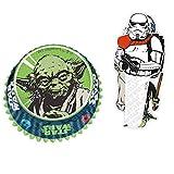 Star Wars Charaktere Cupcake Set mit 60 Formen und 24 Topper - Star Wars Muffin Set R2-D2
