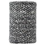 Buff Knitted und Polar Neckwarmer Margo Schlauchschal, Grey, One Size
