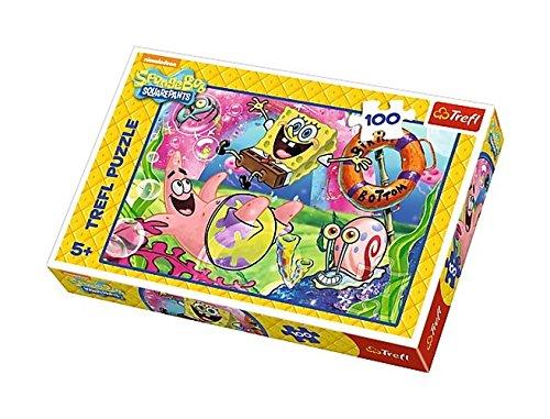 Puzzle Spongebob Mieszkancy Bikini Dolnego 100