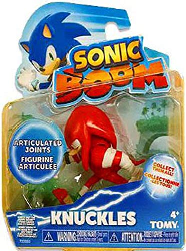 Sonic The Hedgehog Sonic Boom Knuckles 3 Action Figure by Sonic The Hedgehog
