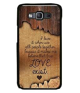 PrintVisa Designer Back Case Cover for Samsung Galaxy On7 G600Fy :: Samsung Galaxy Wide G600S :: Samsung Galaxy On 7 (2015) (Love Lovely Attitude Men Man Manly)