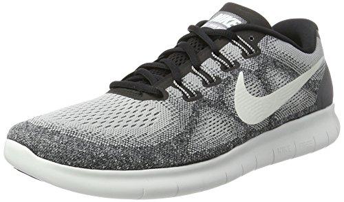 Nike Herren Free Run 2017 Laufschuhe, Grau (Wolf Grey/Off White-Pure Platinum-Black), 47.5 EU