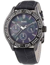 506f88a0aeaa Hugo Boss 1502342 - Reloj cronógrafo de cuarzo para mujer con correa de  piel