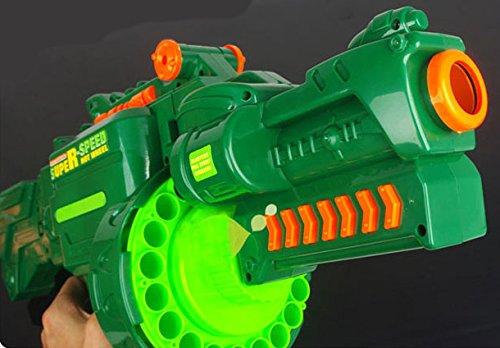 Brigamo 470 – Elektrisches Gewehr Schnellfeuer Softdart Blaster Super Speed Hellfire inkl. Munition - 3
