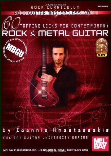 60 Tapping Licks: For Contemporary Rock and Metal Guitar: 1 (MBGU: Rock Guitar Masterclass)