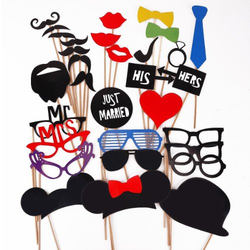 musuntas-31-tlg-party-foto-verkleidung-schnurrbart-lippen-brille-krawatte-hten-photo-booth-props-set