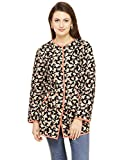 Floral Printed Quilted Jacket Small