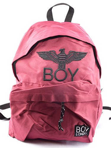 BOY LONDON zaino unisex con stampa BLA-17 BORDEAUX Bordeaux