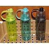 House Of Sensation Mist Sprayer Premium Sport Drinking And Spray 600 Ml Bottle, Sipper, Shaker, Water Bag, Bottle Cage (Pack Of 1, Multicolor)