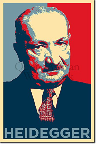TPCK Martin Heidegger Kunstdruck (Obama Hope Parodie) Hochglanz Foto Poster - Maße: 38 x 25 cm