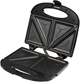 #10: Amazon Brand - Solimo Non-Stick Sandwich Maker (750 watt, Black)