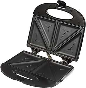 Amazon Brand - Solimo Non-Stick Sandwich Maker (750 watt, Black)
