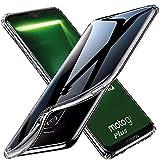 tomaxx Schutzhülle für Motorola G7 Plus Silikon Hülle Ultra Schlank Dünn TPU transparent