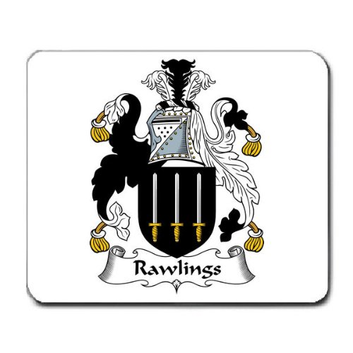 rawlings-family-crest-coat-of-arms-mouse-pad