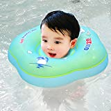 Generic Blue XL : New Baby Swim Ring Inflatable Infant Neck Ring Kids Swimming Pool Accessories Circle Bathing Float Inflatable Raft Neck Rings
