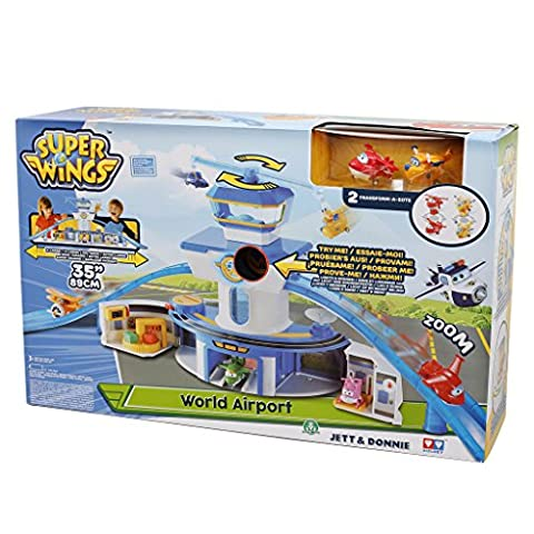 Super Wings - World Airport Playset by Super Wings