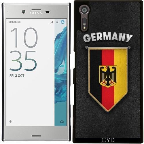 Hülle für Sony Xperia XZ - Deutschland Wimpel Flagge by Carsten Reisinger