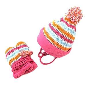 Snowline Baby Set, Mütze und Handschuhe, 4404