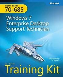 MCITP Self-Paced Training Kit (Exam 70-685): Windows® 7 Enterprise Desktop Support Technician (Pro Certification)