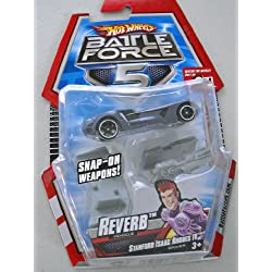 Hot Wheels Battle Force 5 Reverb Die-Cast Vehicle, Stanford Isaac Rhodes IV by Mattel