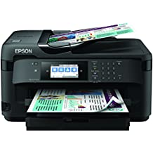 Epson WorkForce WF-7715DWF - Impresora, color negro