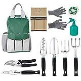 Multifunktion Gartenwerkzeug Set aus Polyester und Aluminium Geschenk für Gartenarbeitliebhaber