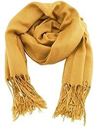 1c7f551d3a2b Accessoire Top Tendance Chèche Écharpe Foulard Homme Femme Très Doux  Couleur Unie 198cm x 90cm (