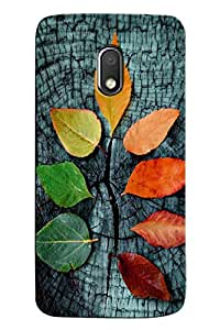 Meraki Silicone Soft Printed Back Cover For Moto G4 Play