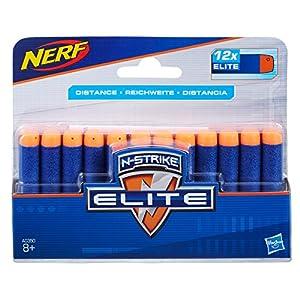 Nerf Official 12 Dart Elite Refill Pack for Nerf N-Strike Elite AccuStrike Zombie Strike Modulus Toy Blasters