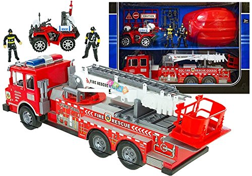 Lean Big Helm KIT Quad Feuerwehr Feuerwehrwagen