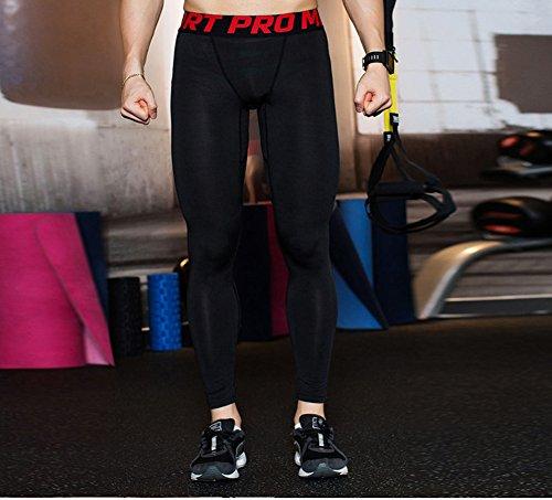 urchoiceltd® 2017Gym QX Herren Hose Running Sport Hose Herren Kompression tragen Workout Kleidung Quick Dry atmungsaktiv bequem Leggings Boden Fitness Elite Thermal WOW